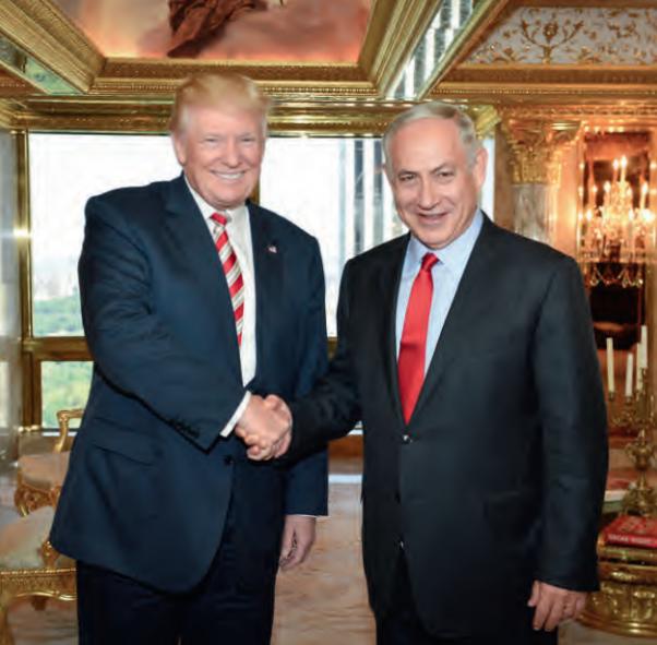 Trump en Netanyahu spraken elkaar in New York op 25 september j.l. Foto:: Kobi Gideon/FLASH 90