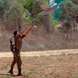 Israëlische soldaat met drone. Foto: Yossi Aloni/ FLASH90