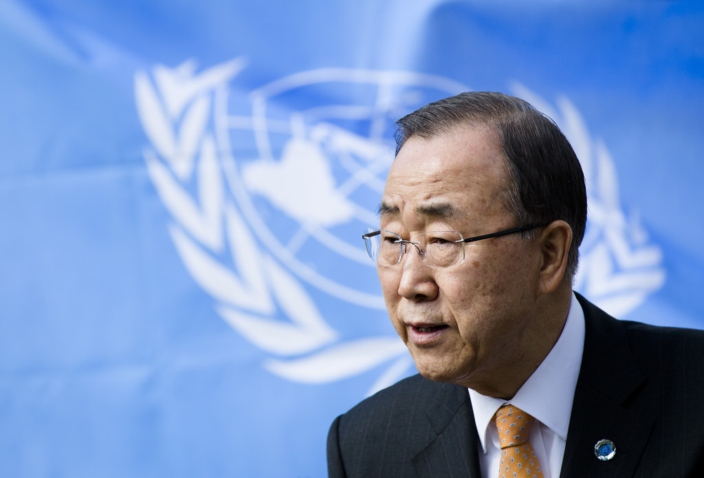 Ban Ki-moon. Foto ministerie van Buitenlandse Zaken.