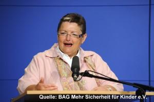 Marlene Rupprecht, drijvende kracht achter de resolutie