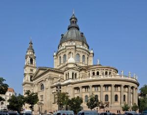 De Sint Stefanus Basiliek in Boedapest