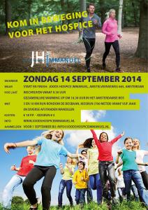 Flyer Kom in Beweging Dag 14 september 2014