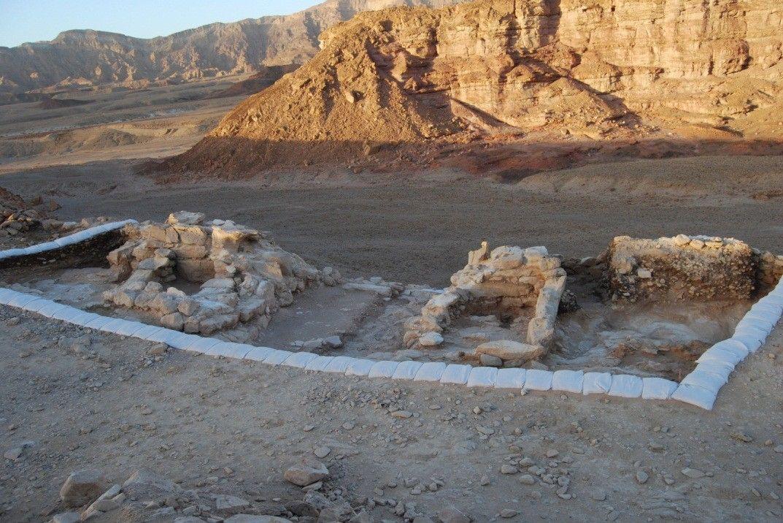 Het fort bij Timna. Foto: Erez Ben-Yosef