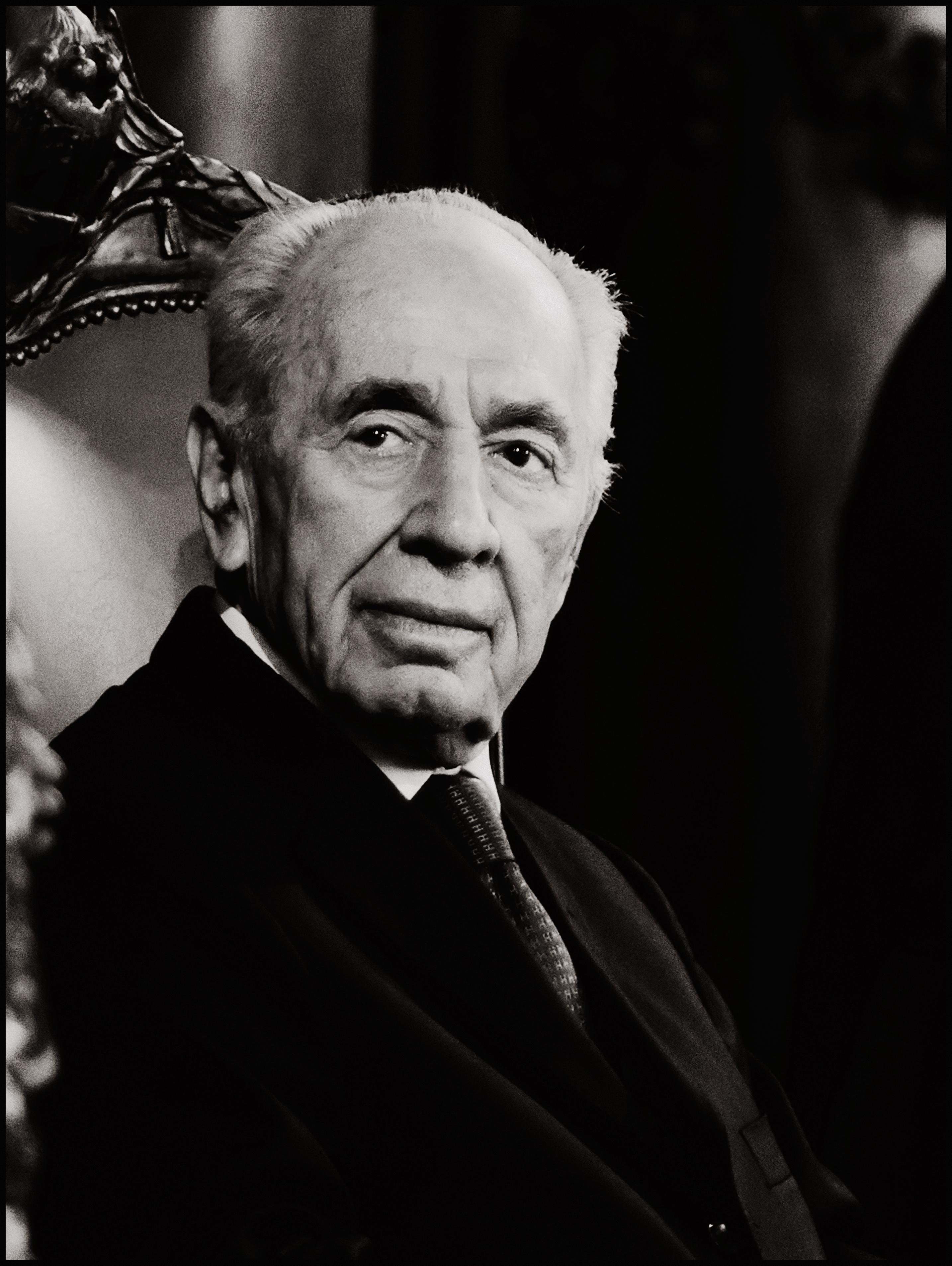 Shimon Peres. Foto: Reinier VDA