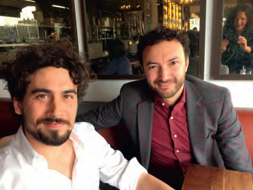 Bo Tarenskeen en Nasrdin Dchar