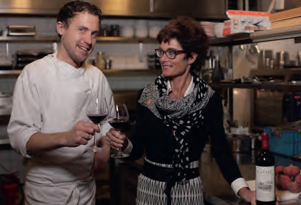 Cathy met Wijn & Ko's chef Tom Smit