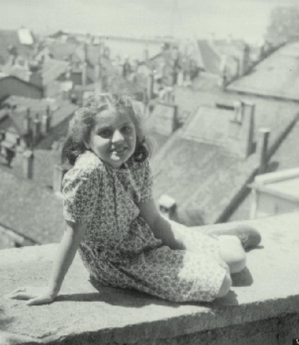 De 10-jarige Madlenka in Zwitserland
