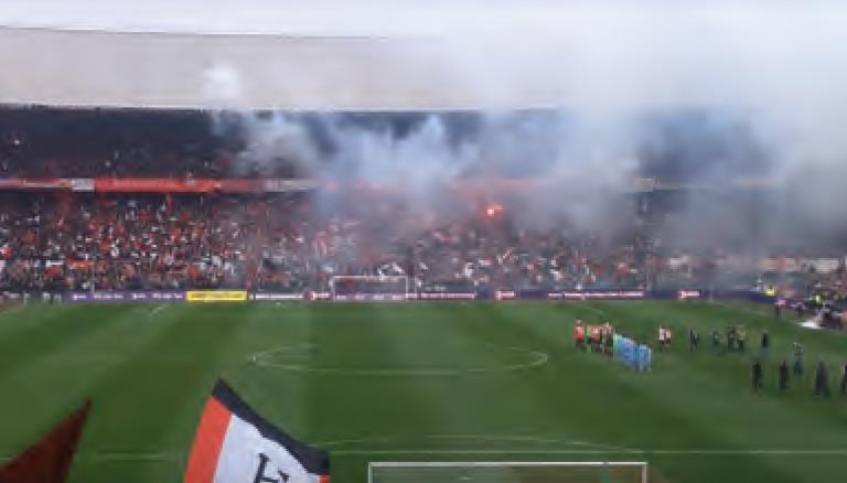 Altijd beladen, Feyenoord-Ajax recent in De Kuip, Rotterdam