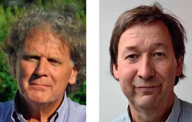 Paul Vigeveno (l) en Jan Stoutenbeek (r)