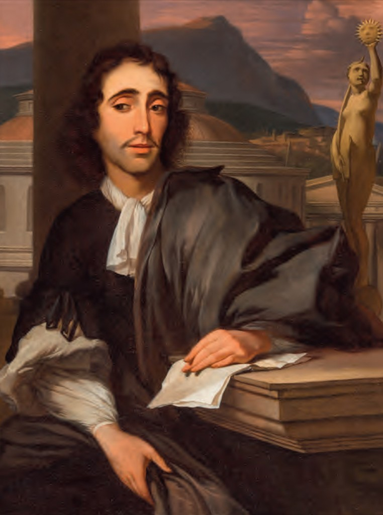 Spinoza, door Barend Graat, 1666