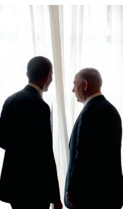 President Obama en premier Netanyahu. Foto: Avo Chayon GPO/FLASH90