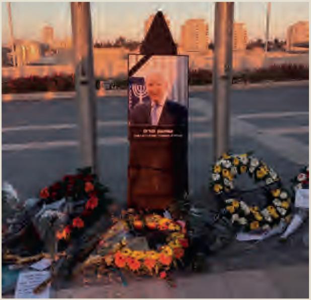 Shimon Peres overleed een paar uur na de deadline van het vorige NIW. Zijn in memoriam hebben we daarom op onze website gezet: www.niw.nl/in-memoriam-shimon-peres Foto: Esther Voet