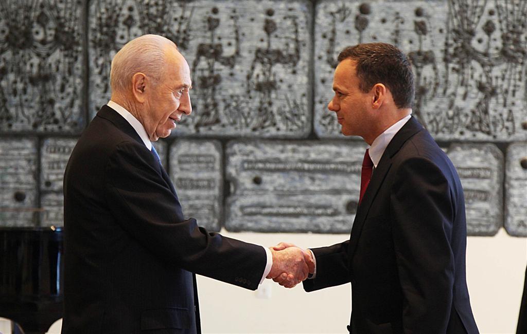 Met Shimon Peres