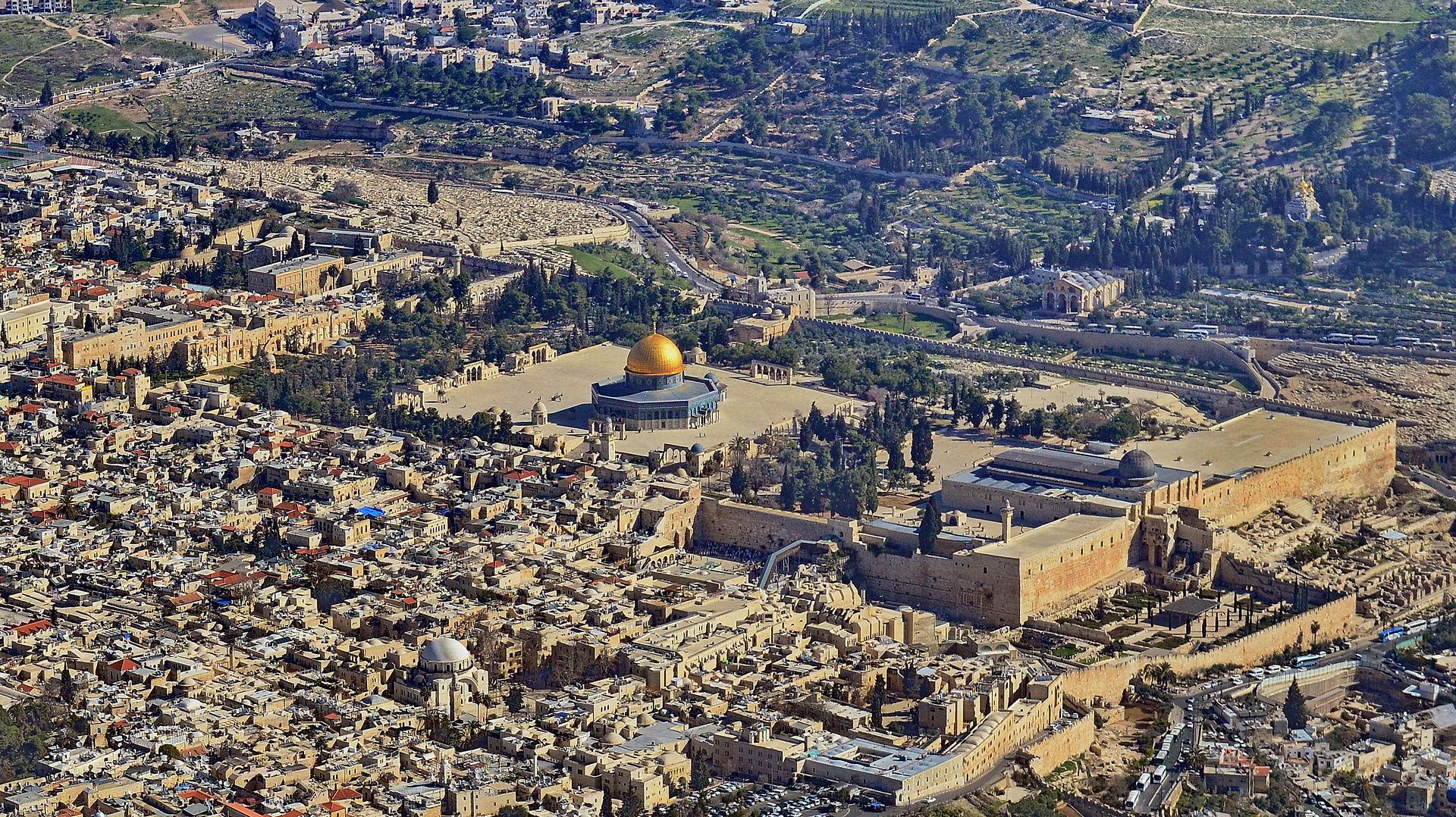 De Oude Stad van Jeruzalem. Foto: Avraham Graicer/Wikimedia Commons